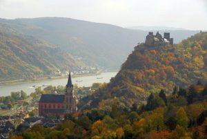 Wanderurlaub Wandern Oberwesel Welterbe Oberes Mittelrheintal