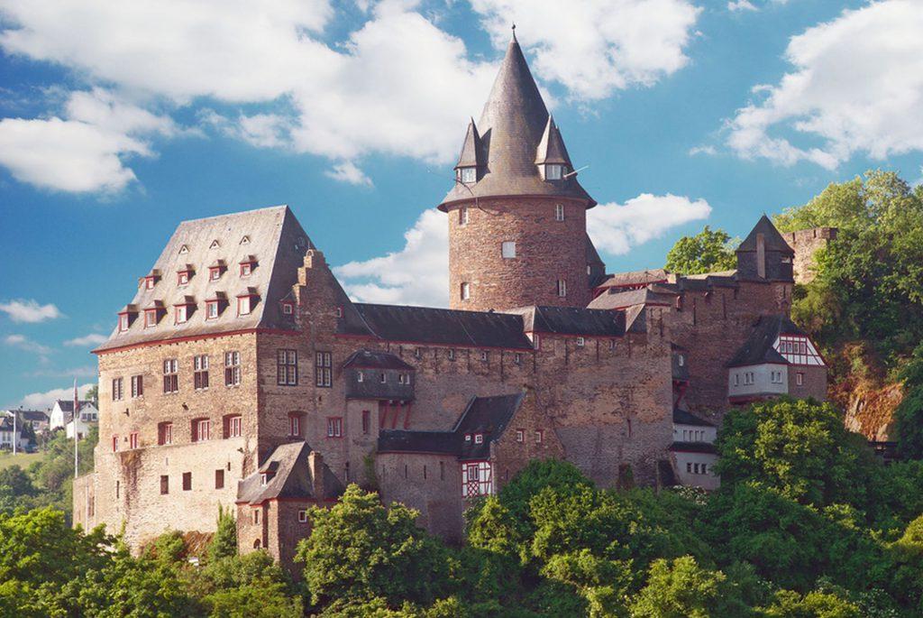 Burg Stahleck ber dem Rhein