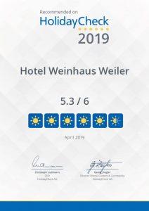 holidaycheck hotel empfehlung mittelrhein oberwesel