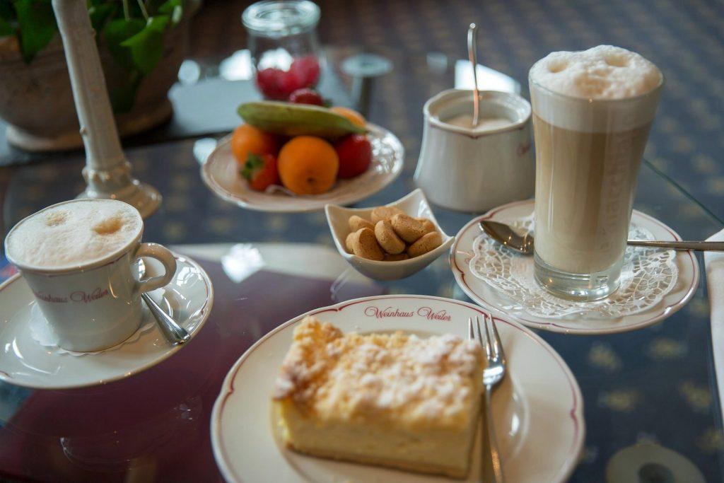 Oberwesel Mittelrhein Kaffee Kuchen
