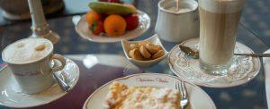 Weinhaus Weiler Rhein affee Kuchen Restaurant Roomservice Hotel Restaurant