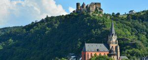 Oberwesel Altstadt Schönburg Oberes Mittelrheintal Unesco