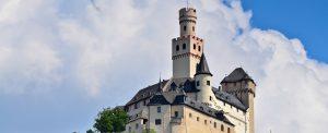 Romantischer Rhein Oberwesel Marxburg Braubach