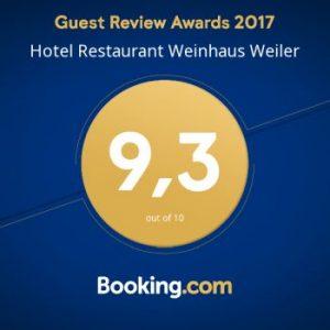 urkunde auszeichnung best hotel bewertung siegel award review